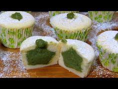 CHEESECAKE MUFFIN Японские хлопковые мини ЧИЗКЕЙКИ капкейки маффины с Кремом МАТЧА Bánh Phô mai Nhật - YouTube