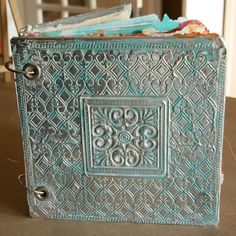 art journal from Donna Downey http://donnadowney.typepad.com/photos/art_journal/page/2/ #art #handmade_books