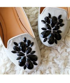 Embellish Loafers at Home! This and 10 Fashion DIYs anyone can do!