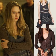 Designer Clothes, Shoes & Bags for Women Tate And Violet, Violet Ahs, Aesthetic Grunge Outfit, Grunge Outfits, Retro Outfits, Free People Tops, Long Sleeve Tops, What To Wear, Fashion Tips
