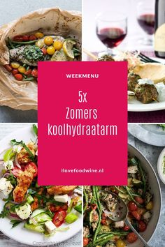 5x Zomers koolhydraatarm genieten - I Love Food & Wine Healthy Diet Recipes, Keto Recipes, I Love Food, Good Food, Wine Recipes, Paleo, Food And Drink, Low Carb, Beef
