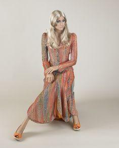Evening dress, Bill Gibb, 1973