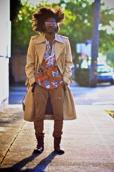 African Fashion & Style found on Facebook Great Singer!