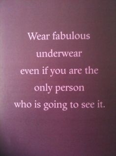 ALWAYS!! And make sure they match!! ;)
