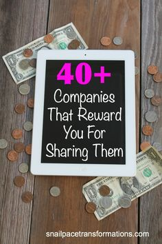 A list of over 40 companies who reward you for sharing their company. This list contains all sorts of companies--including those that sell razors, clothing, cleaners, organic foods, coffee and more.