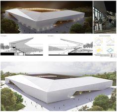 Chile: Presentan proyectos ganadores para diseñar nuevo estadio de Osorno