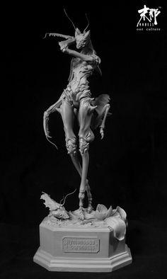 Mantis Resin Garage Kit Takeya Takayuki Manogk | eBay