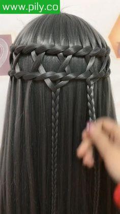 braided hair tutorial Easy Hairstyles For Long Hair, Braids For Long Hair, Cute Hairstyles, Braided Hairstyles, Hair Tutorials For Medium Hair, Medium Hair Styles, Natural Hair Styles, Short Hair Styles, Hair Style Vedio