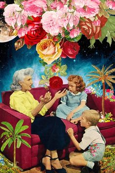 Gardening Stories via Eugenia Loli Collage. Click on the image to see more!
