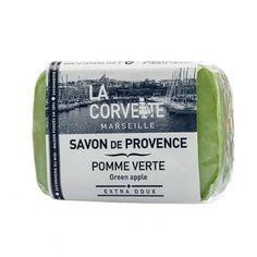 Jabón de la Provenza. Aroma Manzana Verde. Aceites vegetales. Sin parabenos. #cosméticanatural #jabonnatural #jabonprovenza #lacorvette