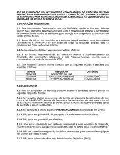 ALEXANDRE GUERREIRO: Corregedoria abre Processo Seletivo Interno Inscri...