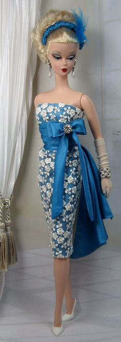 Blue Santai for Silkstone Barbie and Victoire Roux