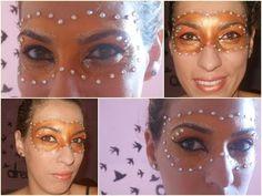 Make de máscara para o carnaval ou baile de máscara (+playlist)