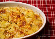 #gratin  di #patate  e formaggio al profumo di timo Mamma, Cheeseburger Chowder, Cheddar, Pizza, Soup, Fancy, Blog, Salads, Cheddar Cheese