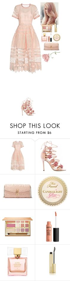 """Prom 2016"" by eliza-redkina on Polyvore featuring мода, Alexis, Marchesa, Dolce&Gabbana, tarte, Kate Spade, Kevyn Aucoin, Prom, outfit и like"