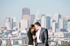 San Francisco Engagement Session: Potrero Hill + Baker Beach – Dorothy + Danny