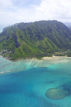 Kahana Bay, Oahu, Hawaii by Hadley Sheley