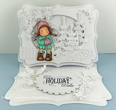 From My Craft Room: Warm holiday wishes from a white winter wonderland