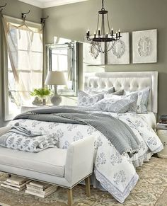 Great I love grey and white bedroom decor. My current bedroom is this colour scheme, very relaxing. The post I love grey and white bedroom decor. My current bedroom is this colour scheme, v… appeared first on Decor Designs . White Bedroom Design, White Bedroom Decor, Bedroom Designs, White Bedrooms, Neutral Bedrooms, Master Bedrooms, Girls Bedroom, Guest Bedrooms, Relaxing Master Bedroom