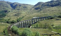 Take the train ... and enjoy the spectacular scenery of the Scottish Highlands. Photograph: Britain on View