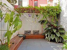 Casa urbana con acentos rústicos en Australia