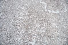 This hand-drawn maze by Japanese janitor Kazuo Nomura took 7 years in the making!