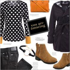 How To Wear Rain or Shine You are AMAZING Outfit Idea 2017 - Fashion Trends Ready To Wear For Plus Size, Curvy Women Over 20, 30, 40, 50
