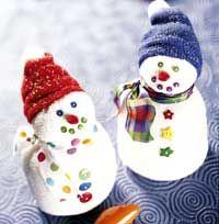 Sock Snowmen!