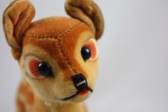 "Vintage Steiff Disney ""Bambi"" - 1840/14 - 1968-1972 - Mohair - Collectible by CelestialWayVintage on Etsy https://www.etsy.com/listing/206155676/vintage-steiff-disney-bambi-184014-1968"