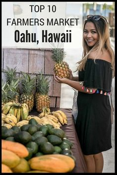 Most up-to-date Pictures Oahu Hawaii farmers market Strategies See The hawaiian islands are probably the most common trip locations on the globe, along with should you get t. Hawaii Life, Oahu Hawaii, Kauai, Hawaii Trips, Hawaii 2017, Hawaii Hotels, Oahu Vacation, Vacation Destinations, Vacations