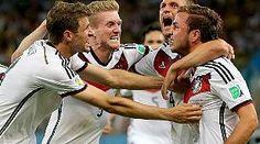 Fußball: Joker Götze schießt Deutschland zum vierten WM-Titel