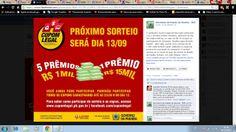 Campanha do Cupom Legal veiculada na pagina da Secretaria de Estado da Receita. www.facebook.com/ReceitaEstadual (Gestão de 3 Anos)