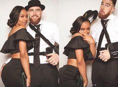 Travis Kelce and girlfriend Kayla Nicole