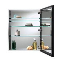 Nutone 72SS304D Gallery Stainless Steel Medicine Cabinet with Mirror
