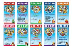 dewey decimal system for kids - Google Search