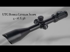 VIDEO EXCLUSIVE: UTG Helps Level Out Long-Range Shots | By Shari LeGate | The UTG Bubble Leveler Scope in 4-16 x 56 from Leapers integrates a bubble level inside the scope. Visible through the viewfinder, the level combined with larger design adjustment turrets help keep long-range shots on target. | © GUNS Magazine 2016