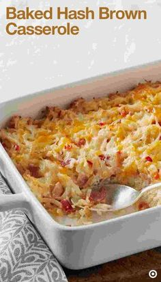 If you are cheese fan, here's a recipe that will become your favorite. Preheat oven to 375°F. In a large skillet, cook bacon, onions & peppers on medium-high heat for about 5 minutes or until bacon is crisp. Be sure to stir occasionally. Transfer this mixture in to a large bowl. Now add potatoes, soup, sour cream, 1 cup of cheese and mix lightly. Spoon this mixture into a 13x9-inch baking dish. Top with remaining cheese & bake for 40-45 minutes. Now go ahead & serve!