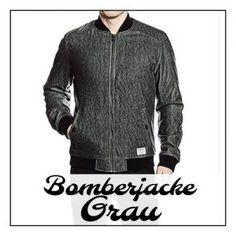 ➥ Die Bomberjacke in Grau ist Perfekt zum kombinieren! | Meine Bomberjacke