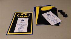 DIY Batman Invitations Super Hero Batman by MyThreeSonsByKristin