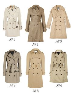 {spring style inspiration : the classic trench part four} | Flickr - Photo Sharing!