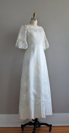 1960s Wedding Gown