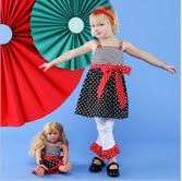 Bows, dolls, and polka dots, oh my! AnnLoren Clothing makes every day a play. Buy at AnnLoren.com