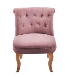 La mia poltroncina Lord in rosa antico  perfetta per la nostra camera da letto!