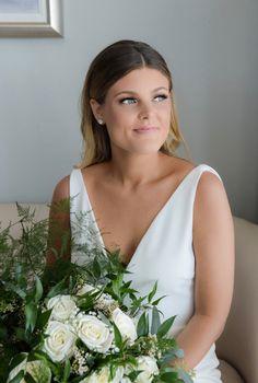 100 Layer Cake, Bridal Makeup, One Shoulder Wedding Dress, Style Me, Bride, Wedding Dresses, Pretty, Beauty, Fashion