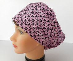 Euro Style Adjstable Pixie Surgical Scrub Hat by bluebird053