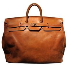 Brown Leather Bag.