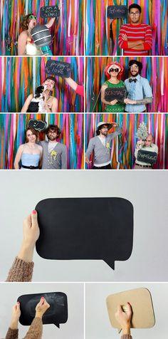 Bridezilla & Groomzilla berceloteh: Photobooth corner
