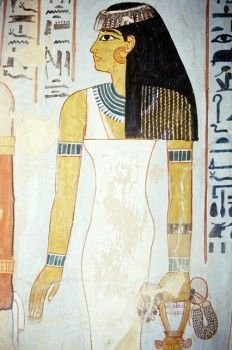 Tomb of Sennefer. Valley of the Nobles. West Bank. Luxor. High Egypt.