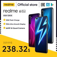 Realme 6 Pro Mobile Phone 6.6inch 90Hz Display 64MP Cam 8GB 128GB Snapdragon 720G Smartphone Cellphone Android Phone Telephones realme 6 pro,realme 6 mobile,realme 6 pro phone,realme 6 phone,realme 6 cover,realme 6 case,realme 6 back cover,realme 6 pro price,realme 6 white,realme 6 pro unboxing,