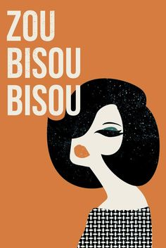 zou bisou bisou by tami bohm at http://www.minted.com/design-rating/55462